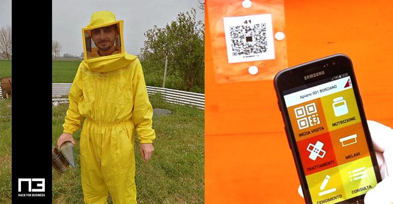 giovani appassionati apicoltura app ormabee n codogno