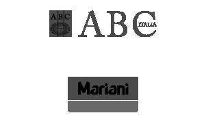 loghi  abc italia mariani